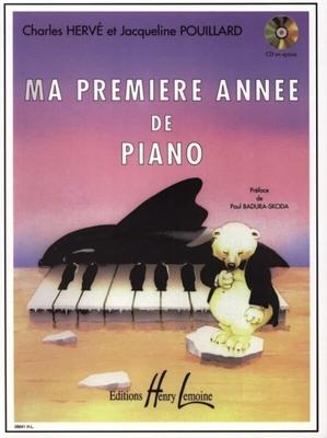 Ma première année de piano / Hervé et Pouillard / Henry Lemoine