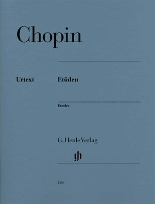 Etudes HN124 / Chopin Frédéric / Henle