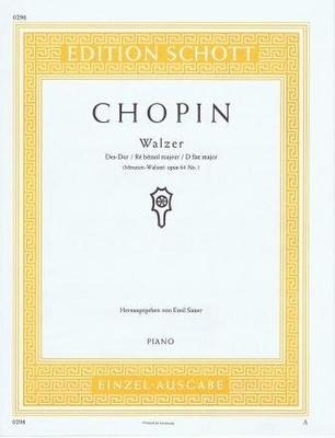 Valse en réb majeur op. 64 no 1 (Minute) / Chopin Frédéric / Schott