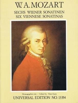 6 sonatines viennoises / Mozart Wolfgang Amadeus / Universal Edition
