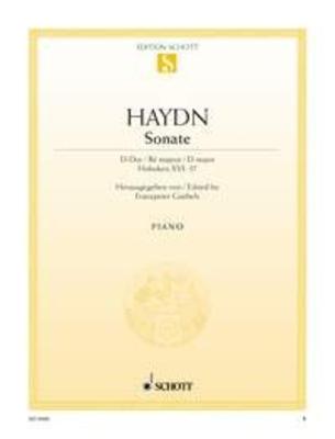 Sonate en ré majeur Hob. XVI:37 / Sonate D Hob.Xvi:37 / Franz Joseph Haydn / Schott