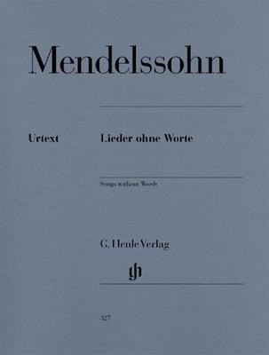 Romances sans paroles / Mendelssohn-Bartholdy Felix / Henle