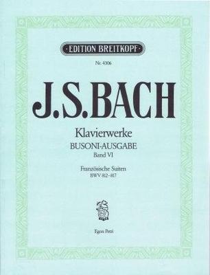 Suites françaises BWV 812-817Franzosische Suiten / Bach Jean Sébastien / Breitkopf