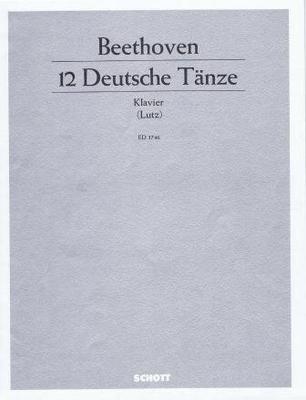 12 danses allemandes / Beethoven Ludwig van / Schott