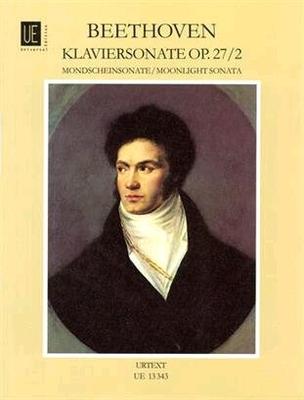 Sonate op. 27 no 2 'Clair de lune'Mondscheinsonate 14 Cis Opus 27/2 / Beethoven Ludwig van / Universal Edition