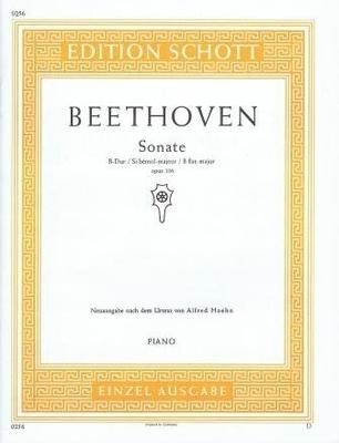 Sonate en sib majeur op. 106 / Beethoven Ludwig van / Schott