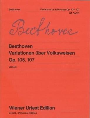 Variationen über Volksweisen op. 105/107 / Beethoven Ludwig van / Wiener Urtext