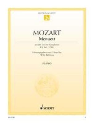 Menuet de la symphonie KV 543 Menuet Uit Es Dur Symph. Kv543 / Mozart Wolfgang Amadeus / Schott