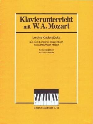 Leichte Klavierstücke / Mozart Wolfgang Amadeus / Breitkopf