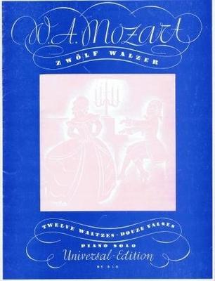 12 valses / Mozart Wolfgang Amadeus / Universal Edition