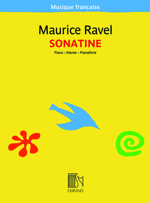 Sonatine Pour Piano Maurice Ravel / Ravel Maurice / Durand