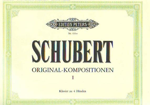 Schubert Compositions originales vol. 1 / Schubert Franz / Peters