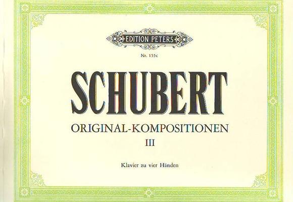 Shubert Compositions originales vol. 3 / Schubert Franz / Peters