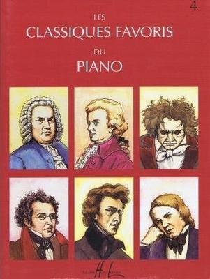 Les classiques favoris du piano vol. 4 /  / Henry Lemoine
