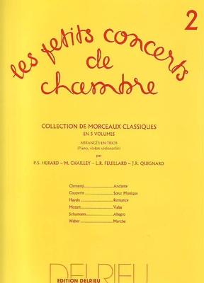 Les petits concerts de chambre vol. 2 /  / Edition Delrieu