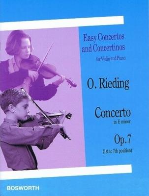 Oskar Rieding: Concerto In E Minor (Violin/Piano) / Rieding, Oskar (Artist) / Bosworth