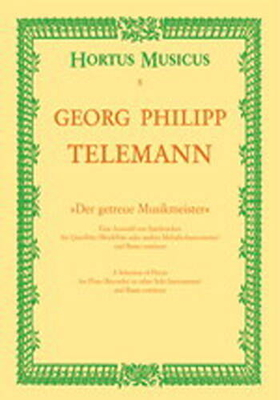Sonate en sib majeur / Telemann Georg Philip / Hortus Musicus