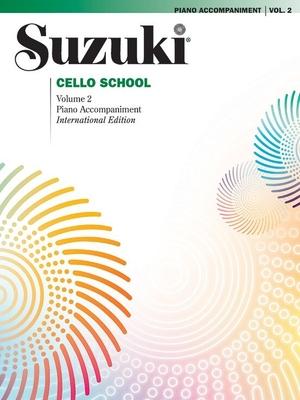 Suzuki Cello School vol. 2 accompagnement piano / Suzuki Shinichi / Alfred Publishing