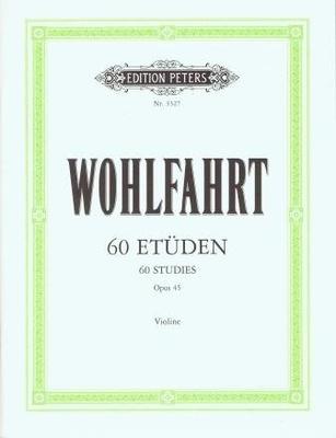 EP 3327 Wohlfahrt 60 études op. 45 / Wohlfahrt Franz / Peters