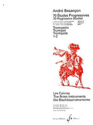 70 Etudes Progressives Volume 1 / A. Besancon / Billaudot