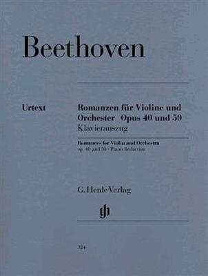 Romances op. 40 et 50Romanzen für Violine und Orchester Op. 40 und 50 / Beethoven Ludwig van / Henle