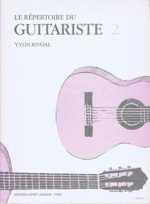 Le répertoire du guitariste vol. 2 /  / Henry Lemoine