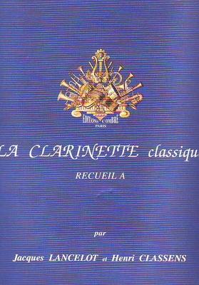 La clarinette classique vol. A /  / Combre