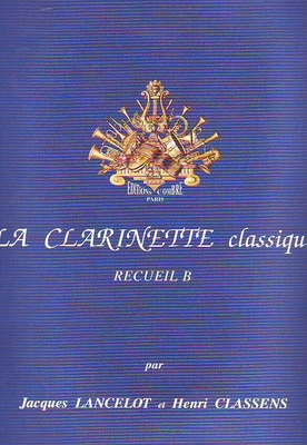 La clarinette classique vol. B /  / Combre