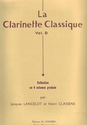 La clarinette classique vol. D /  / Combre