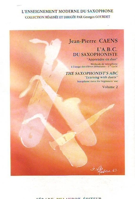 ABC du saxophoniste vol. 2 / Caens Jean-Pierre / Billaudot