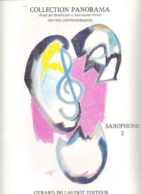 Collection panorama du saxophone vol. 2 /  / Billaudot