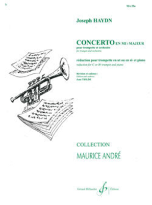 Concerto En Mi B Majeur / Franz Joseph Haydn / Billaudot
