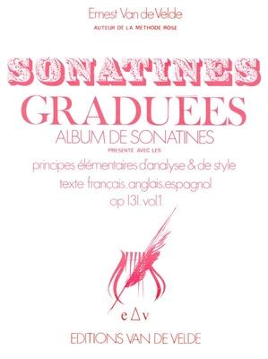 Sonatines graduées op. 131 vol. 1 /  / Van de Velde