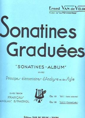 Sonatines graduées op. 131 vol. 2 /  / Van de Velde
