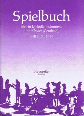 Spielbuch vol. 1 /  / Bärenreiter