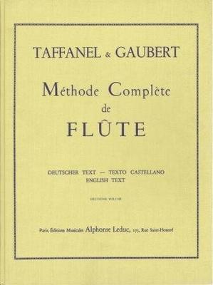 Méthode complète de flûte / Taffanel/Gaubert / Leduc