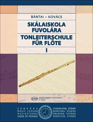 EMB Music Lesson – Exercises,  Studies / Tonleiterschule für Flöte I Scale Tutor for Flute 1 / Vilmos Bntai / Babor Kovacs / EMB Editions Musica Budapest