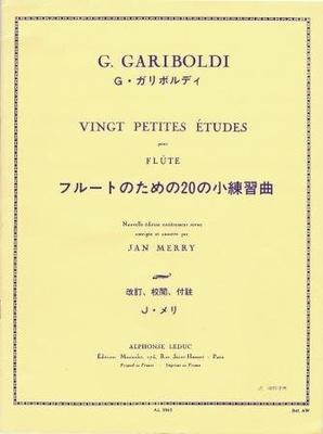 Vingt Petites Etudes Op. 132 20 Petites Etudes Giuseppe Gariboldi / Giuseppe Gariboldi / Leduc