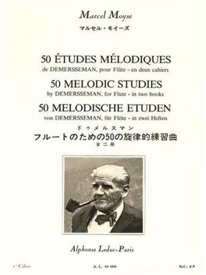 50 études mélodiques vol. 1 Marcel Moyse / Demersseman / Marcel Moyse / Leduc