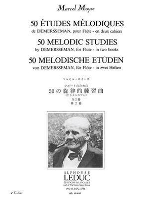 50 études mélodiques vol. 2 / Demersseman/Moyse / Leduc
