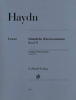 Sonates vol. 2 / Complete Piano Sonatas, Volume II HN 240 / Haydn Joseph / Henle
