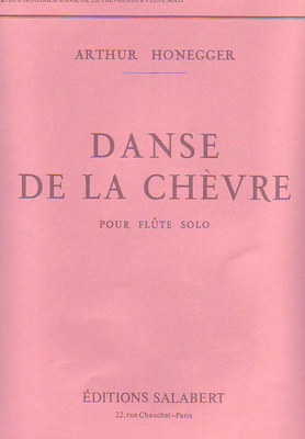 Danse de la chèvre / Honegger Arthur / Salabert