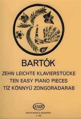 Zehn leichte Klavierstücke / Bartok Bela / EMB Editions Musica Budapest