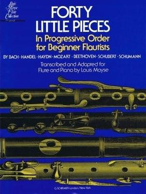 Forty little pieces (40 petites pièces) / Louis Moyse / Schirmer
