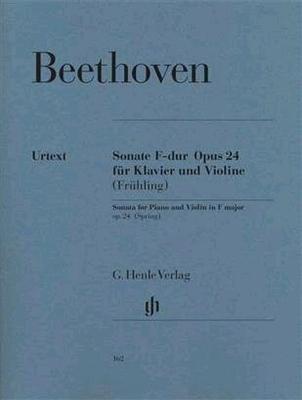 Sonate en fa majeur op. 24 'Le Printemps' / Beethoven Ludwig van / Henle
