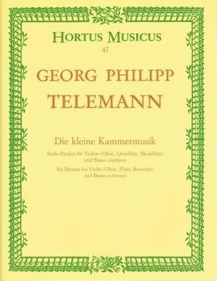 Hortus Musicus / Die kleine Kammermusik (6 partitas) / Telemann Georg Philip / Bärenreiter