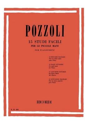 15 études pour les petites mains / Pozzoli Ettore / Ricordi
