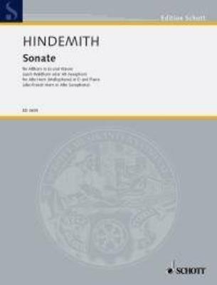 Sonate / Paul Hindemith / Schott
