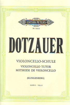 Méthode de violoncelle vol. 2 / Dotzauer Justus Johann Friedrich / Peters