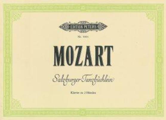 Salzburger Tanzbuchlein / Wolfgang Amadeus Mozart / Litolff